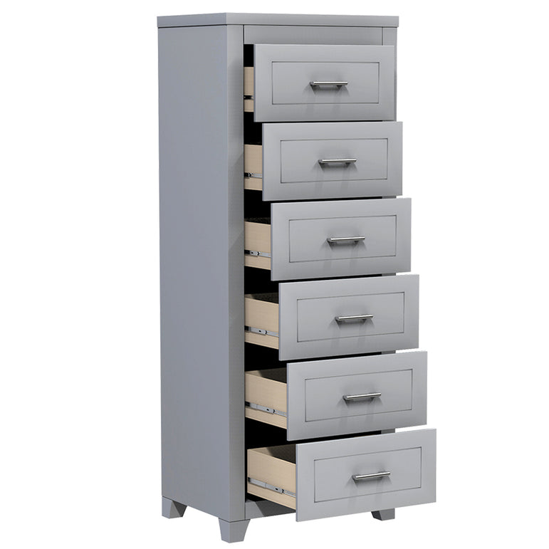 desk with 6 drawers