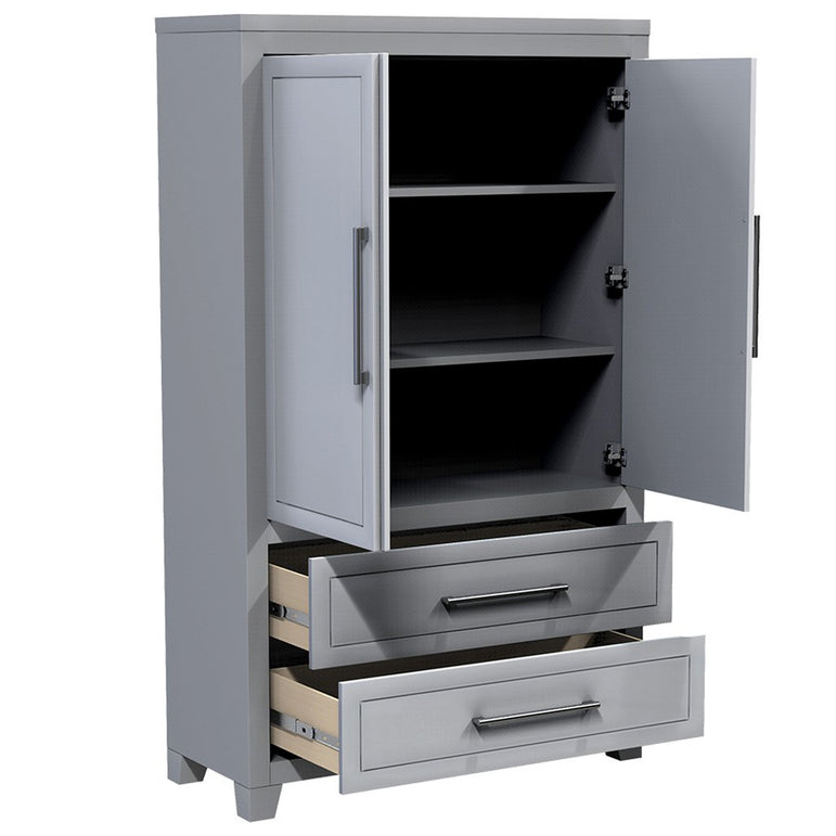 cabinet with shelf