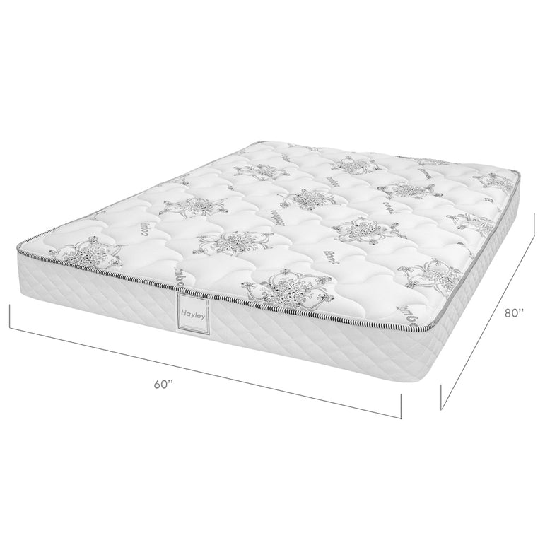 Ensemble Matelas Sommier Plat - Collection Hayley - Queen