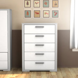 5 chest drawers