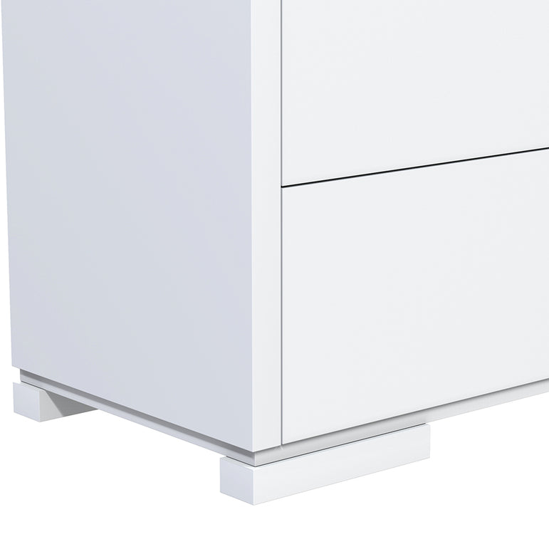 Desk - 3 Drawers - Joe - White