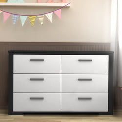 6 KARLSTAD drawers chest