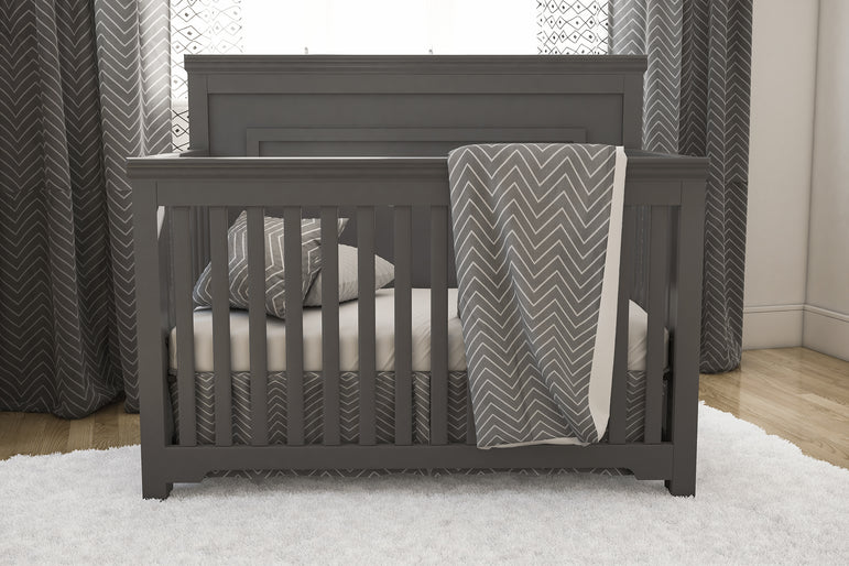 TRIO COLLECTION JOANNA DARK GRAY AND WHITE
