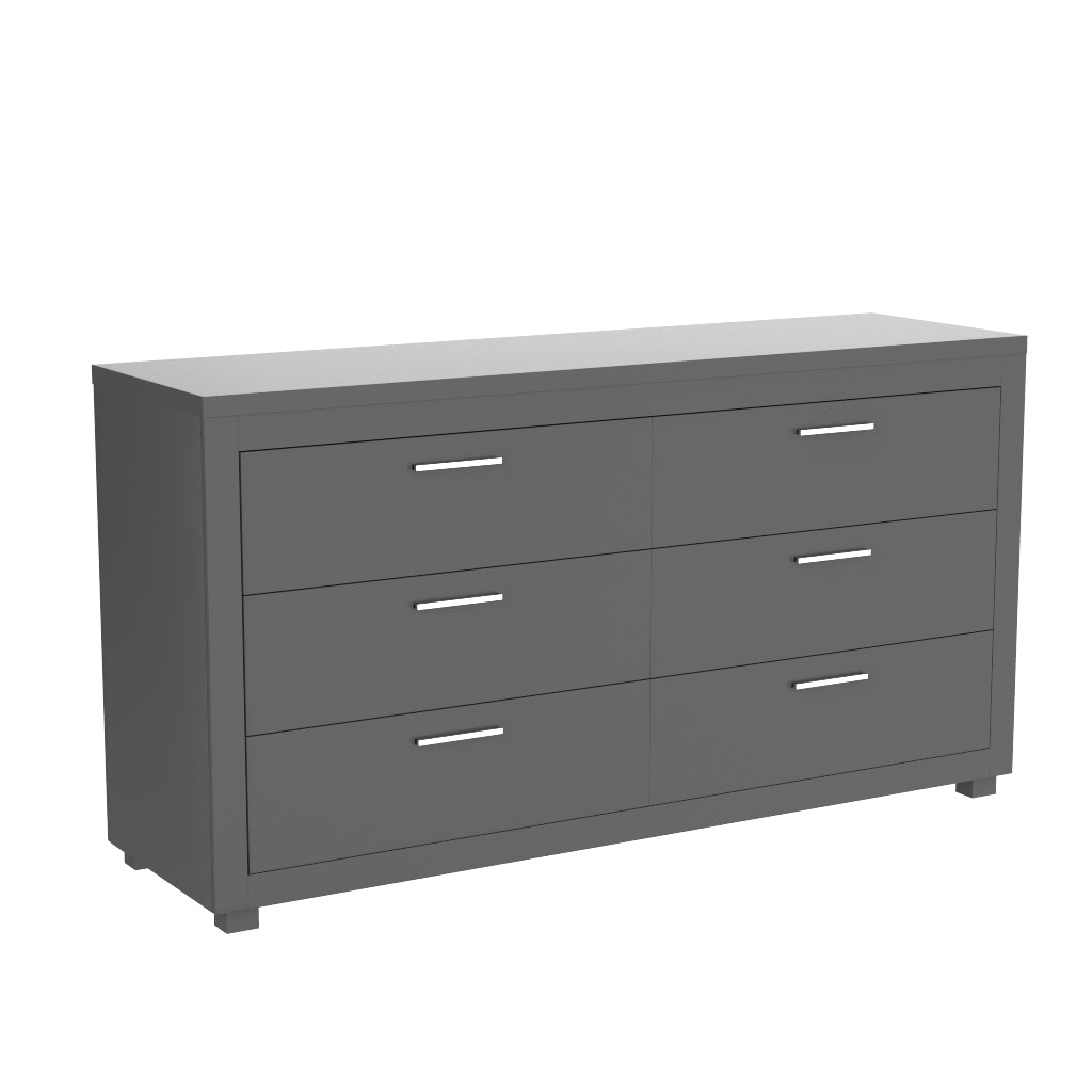 double dresser 6 drawers