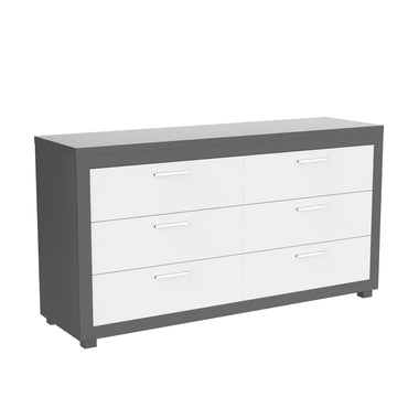 Bebelelo 6 drawer double desk