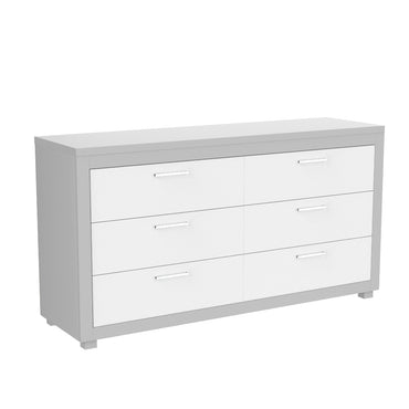 6-drawer double desk