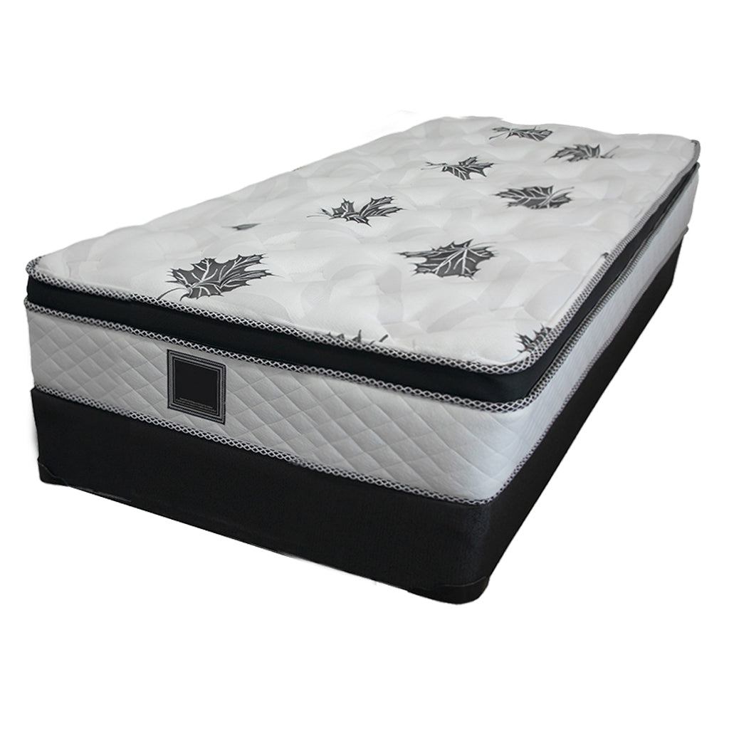 19 inch single box spring mattress set - Georgia Collection