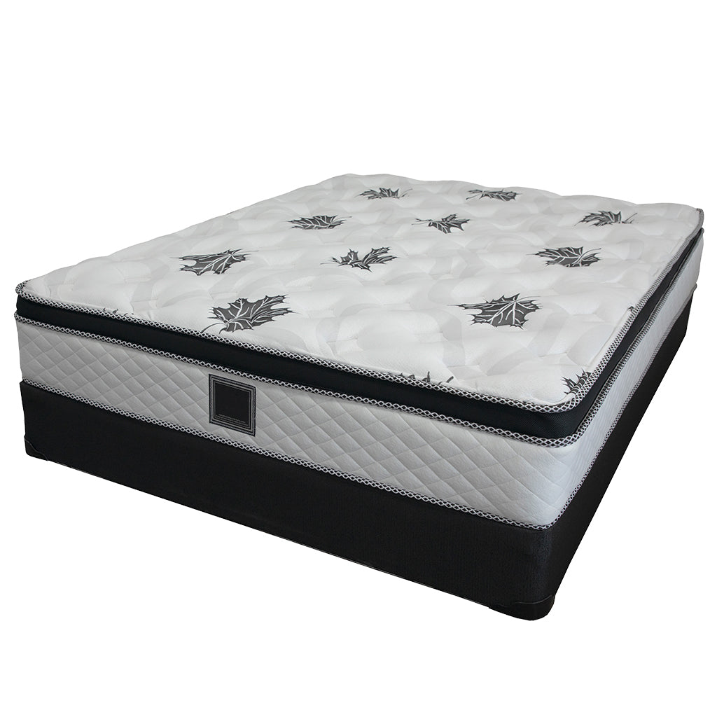 Ensemble matelas sommier queen 19 pouces - Collection Georgia