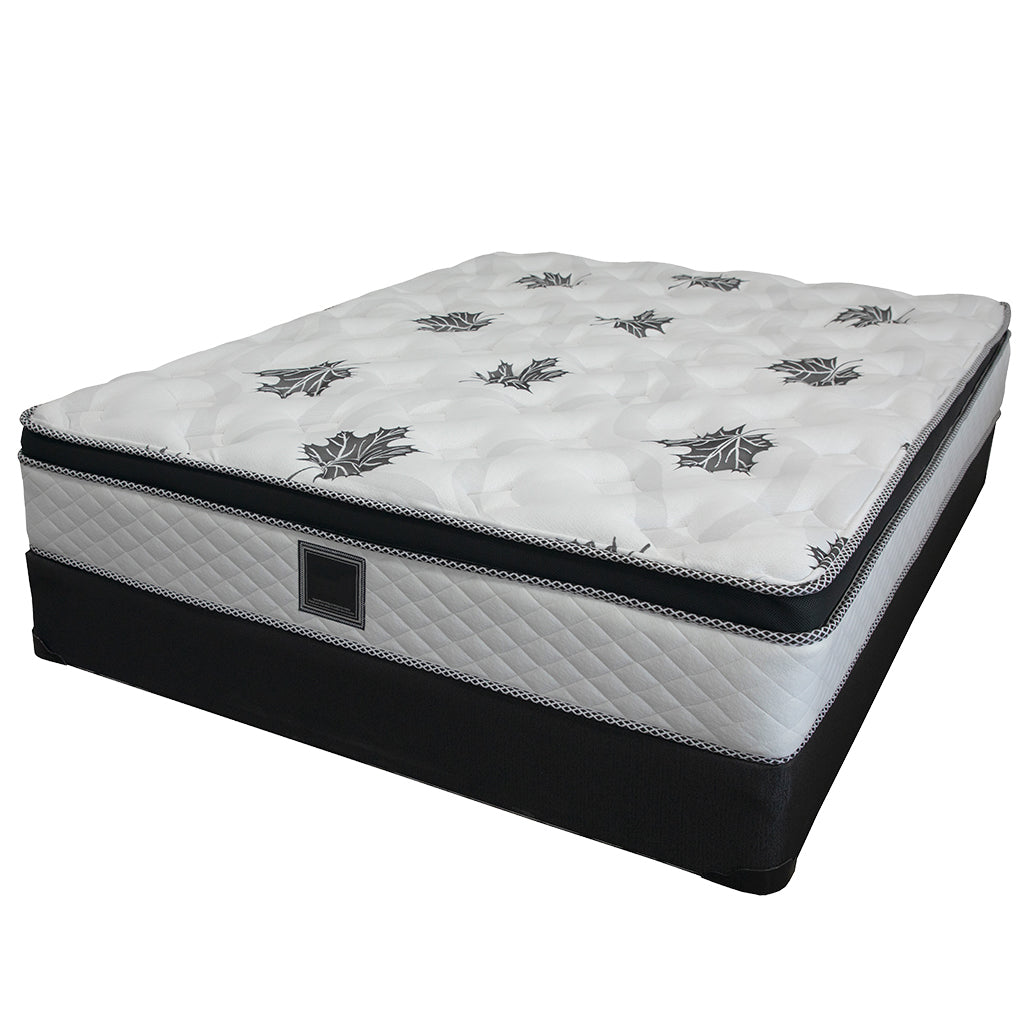 19 inch double box spring mattress set - Georgia Collection