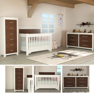 TRIO EMMA COLLECTION - WALNUT WHITE