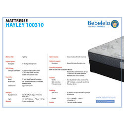 Queen mattress set 14 inches - Hayley Collection