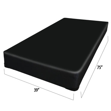 Ensemble matelas sommier simple 19 pouces - Collection Georgia