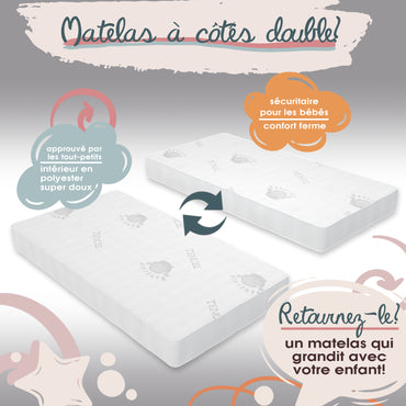 Mattress for crib Tencel