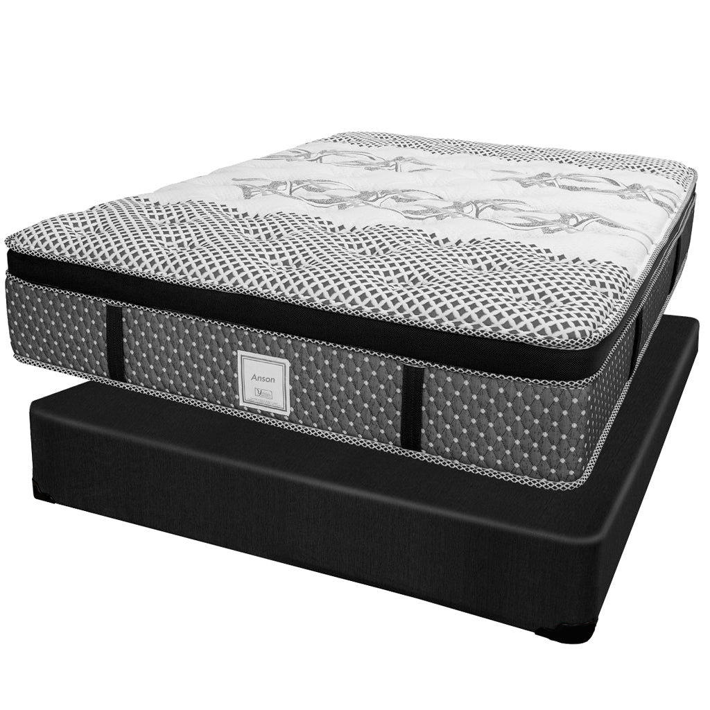 Ensemble Matelas Sommier - Collection Anson - Queen