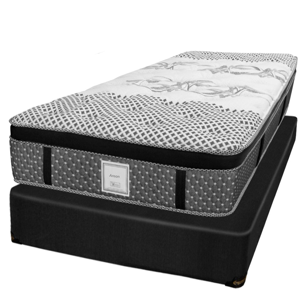 Ensemble Matelas Sommier - Collection Anson - Simple