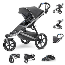 Jogging Stroller - Thule - Urban Glide 2 - Dark Shadow