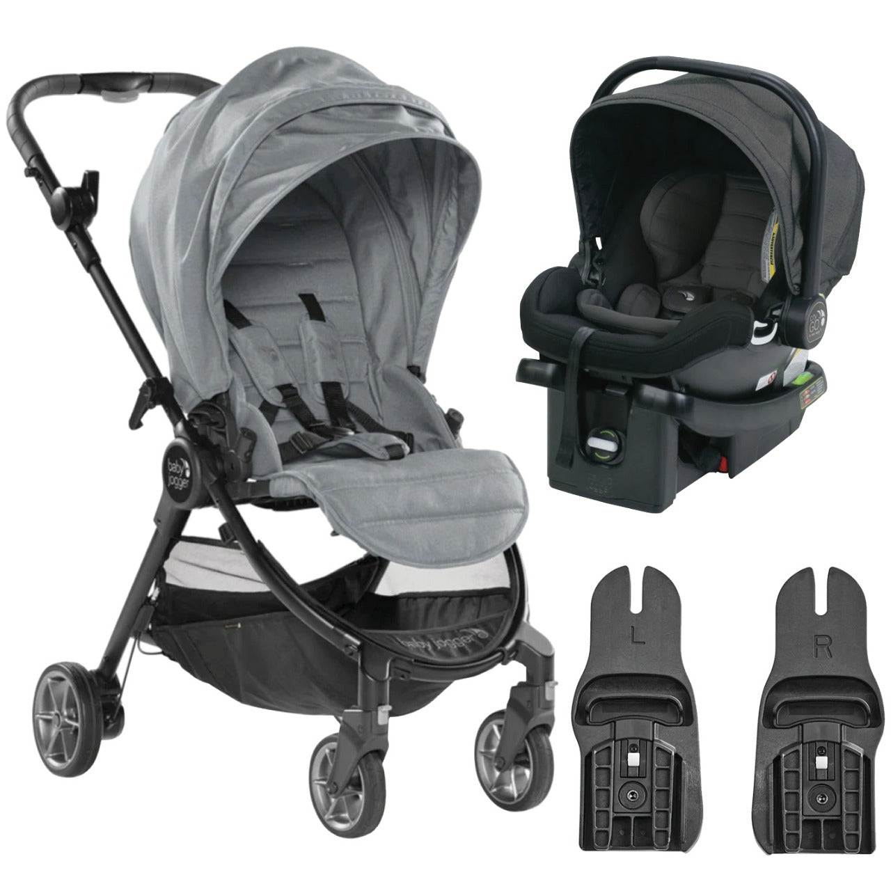 Baby Jogger Travel System - City Tour Lux Slate