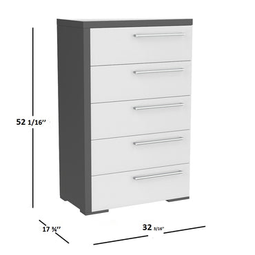 5 drawers chest alpine