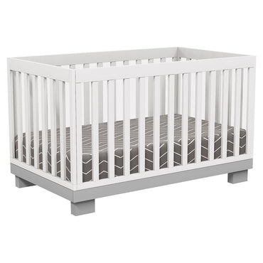 4 in 1 Convertible Crib - Joanna - Gray / White