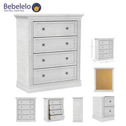 nursery 5 drawers set