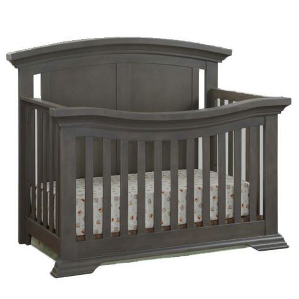 4 in 1 Convertible Crib - Mattheo - Dark Gray