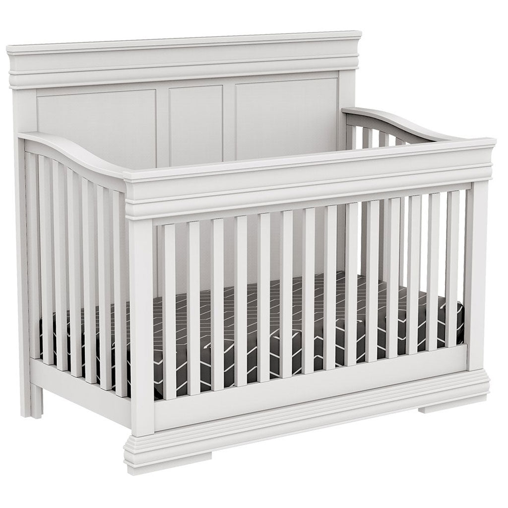 4 in 1 Convertible Crib - Noah - White