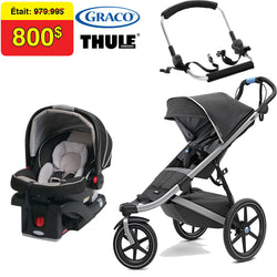 Thule Travel System - Urban Glide 2 - Dark Shadow