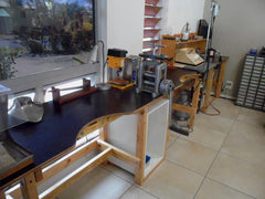 Student work benches