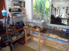 Jewellery Studio work benches and equipment