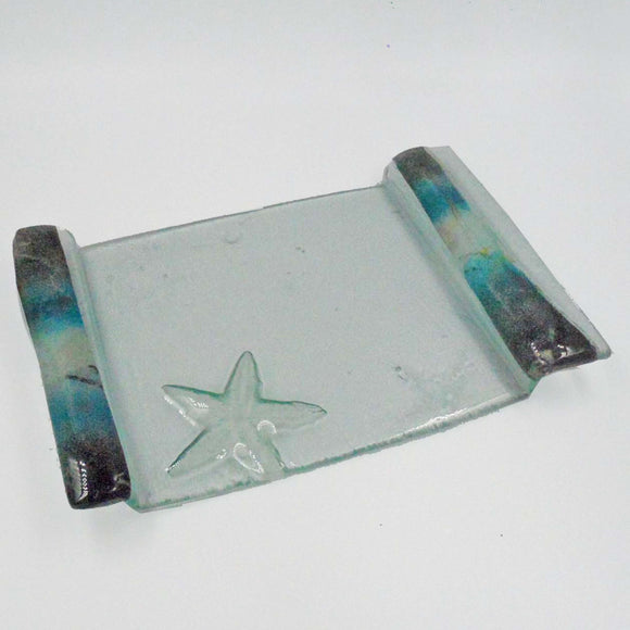 RECTANGULAR GLASS PLATTER