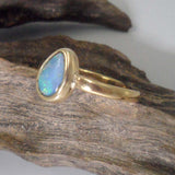 OPAL Ring set in  9ct Gold 4