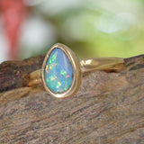 OPAL Ring set in  9ct Gold