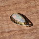 OPAL IN 18CT GOLD PENDANT