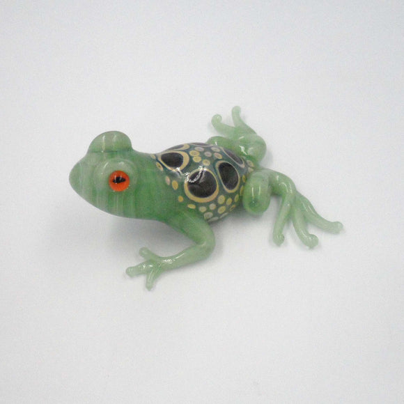 Lt GREEN GLASS FROG