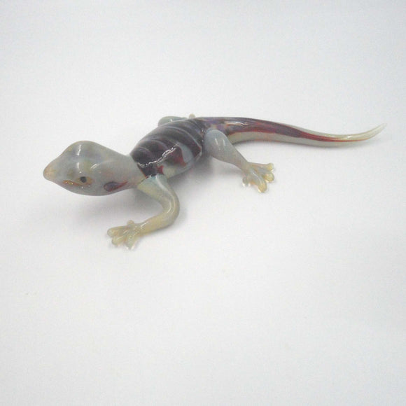 LT GREEN GLASS GECKO