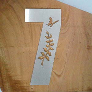 HOUSE NUMBER 7 - Fern Design