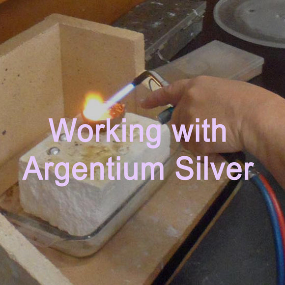 Working with Argentium Silver