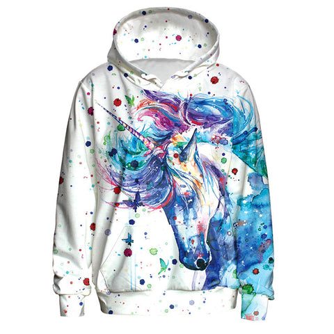 Ink Splash Unicorn