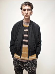 THE BERTRAND PAPER COTTON BOMBER JACKET