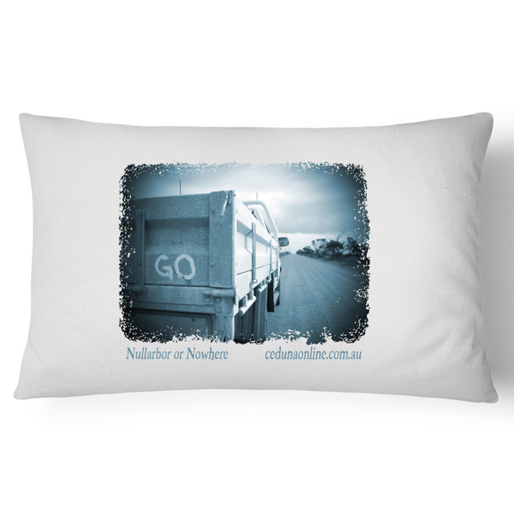 GO - Souvenir Pillowcase 100% Cotton
