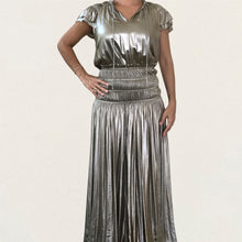 VESTIDO CURRENT SILVER METALLIC