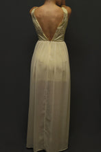 VESTIDO LARGO BEIGE CREAM*