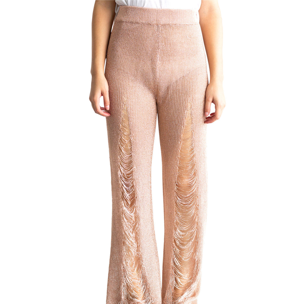 PANTALON WOW ROSE GOLD @