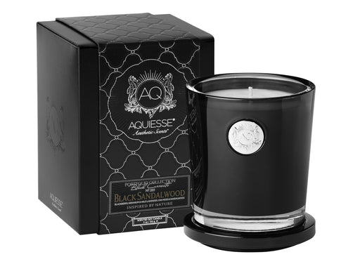 Black Sandalwood - Large Soy Candle /Gift Box - Tuftd
