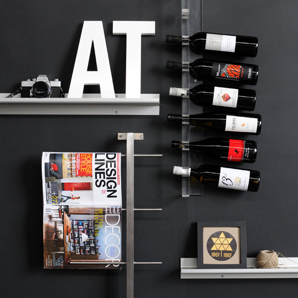 Acrylic Wine Rack - Floor Model - Tuftd
