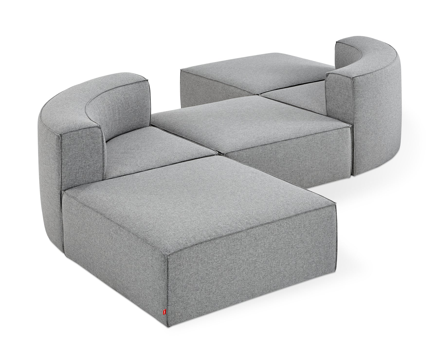 Mix Modular 5-Pc Seating Group A