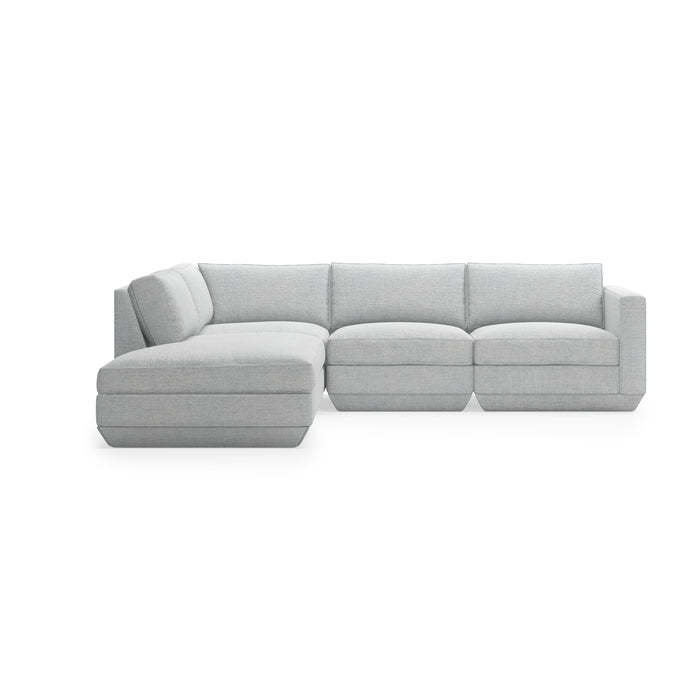 Podium 4-Pc Lounge Sectional A - Left Facing