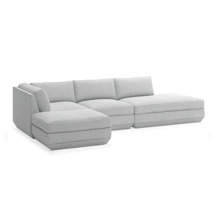 Podium 4-Pc Lounge Sectional B - Left Facing