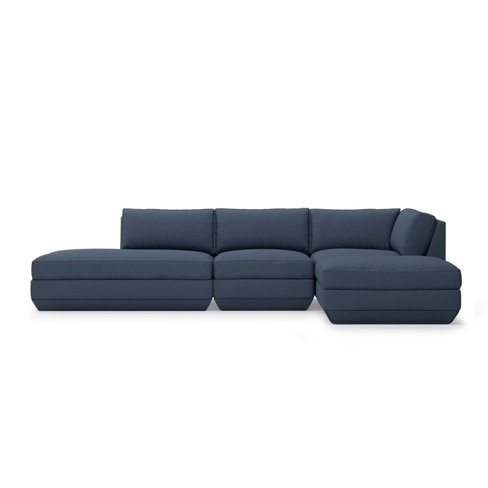 Podium 4-Pc Lounge Sectional B - Right Facing