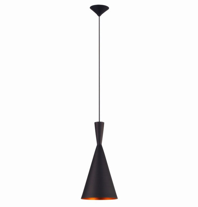 Jayda Tall Pendant Lamp - Black